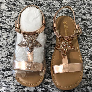 NIB - Billieblush Big Girls Sandals